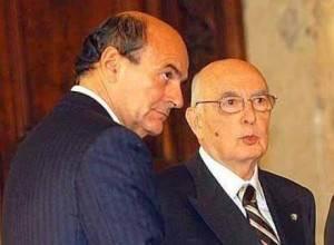 Bersani e Napolitano