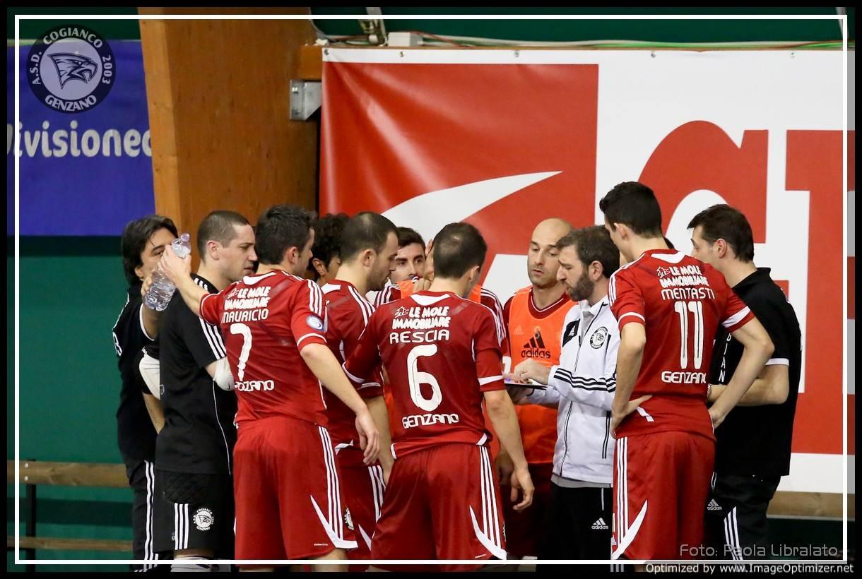 Cogianco Genzano Futsal timeout