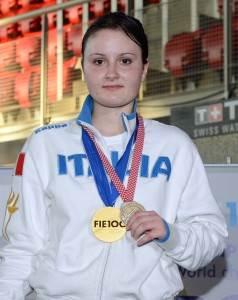 Camilla Mancini mondiale giovanile