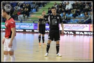 Marca Futsal contro Cogianco Genzano