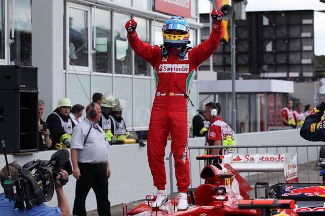 Alonso vince
