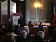 conferenza stampa porta a porta albano