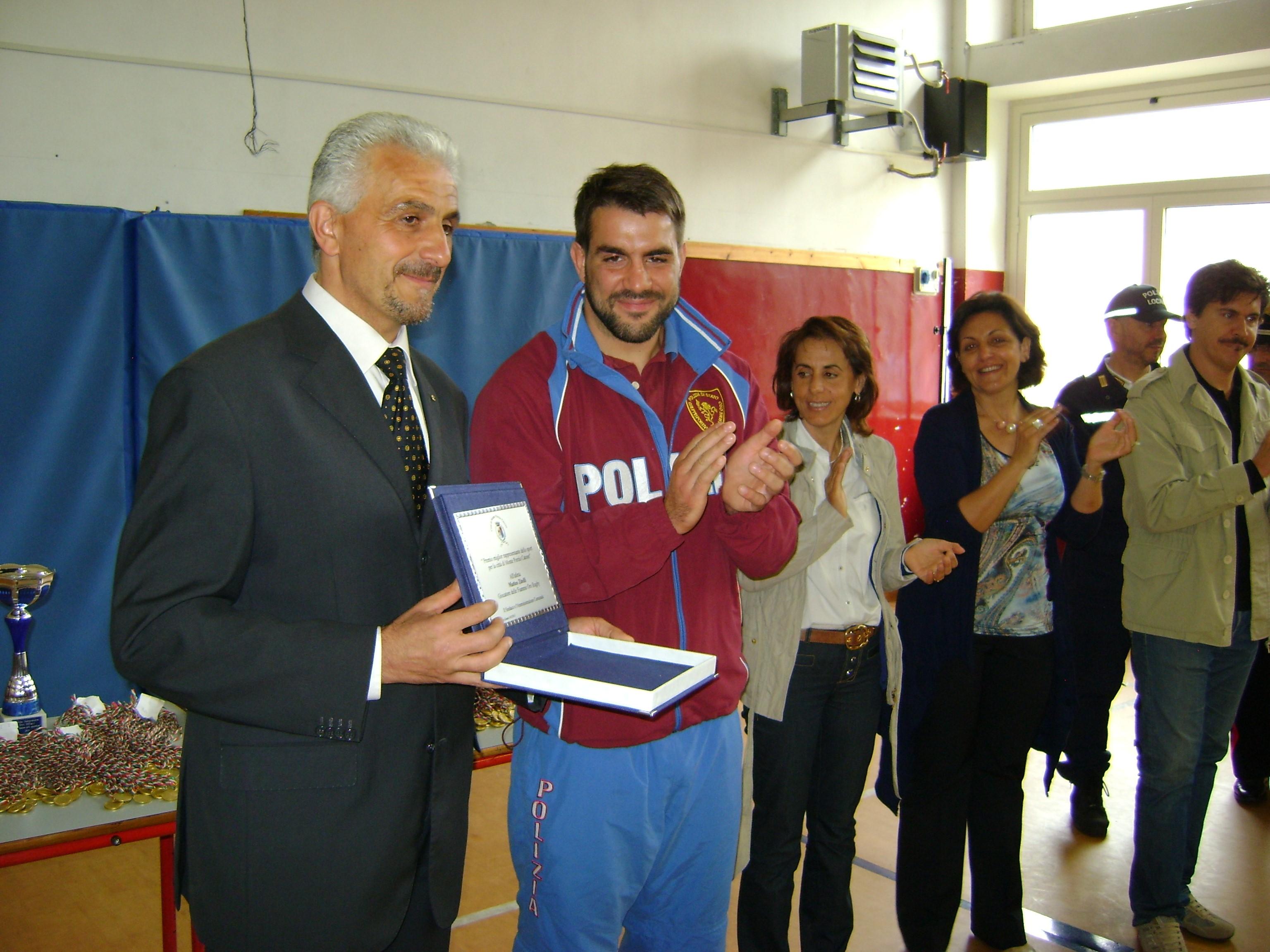 Matteo Zitelli premiazione