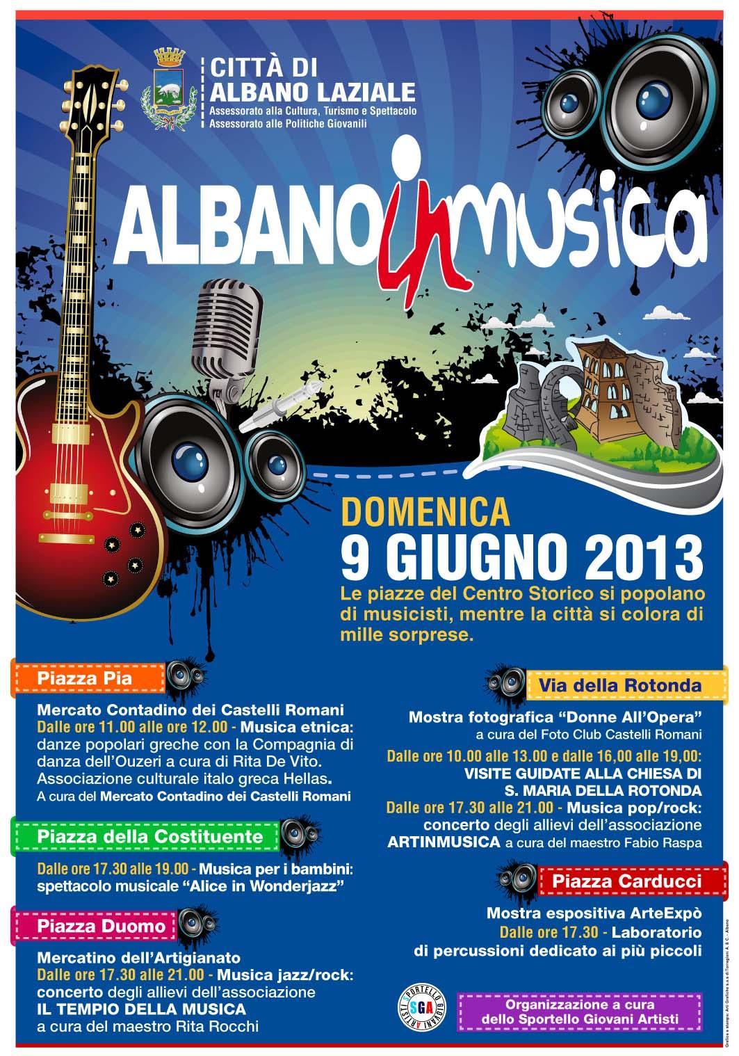 albano in musica 9 giugno 2013