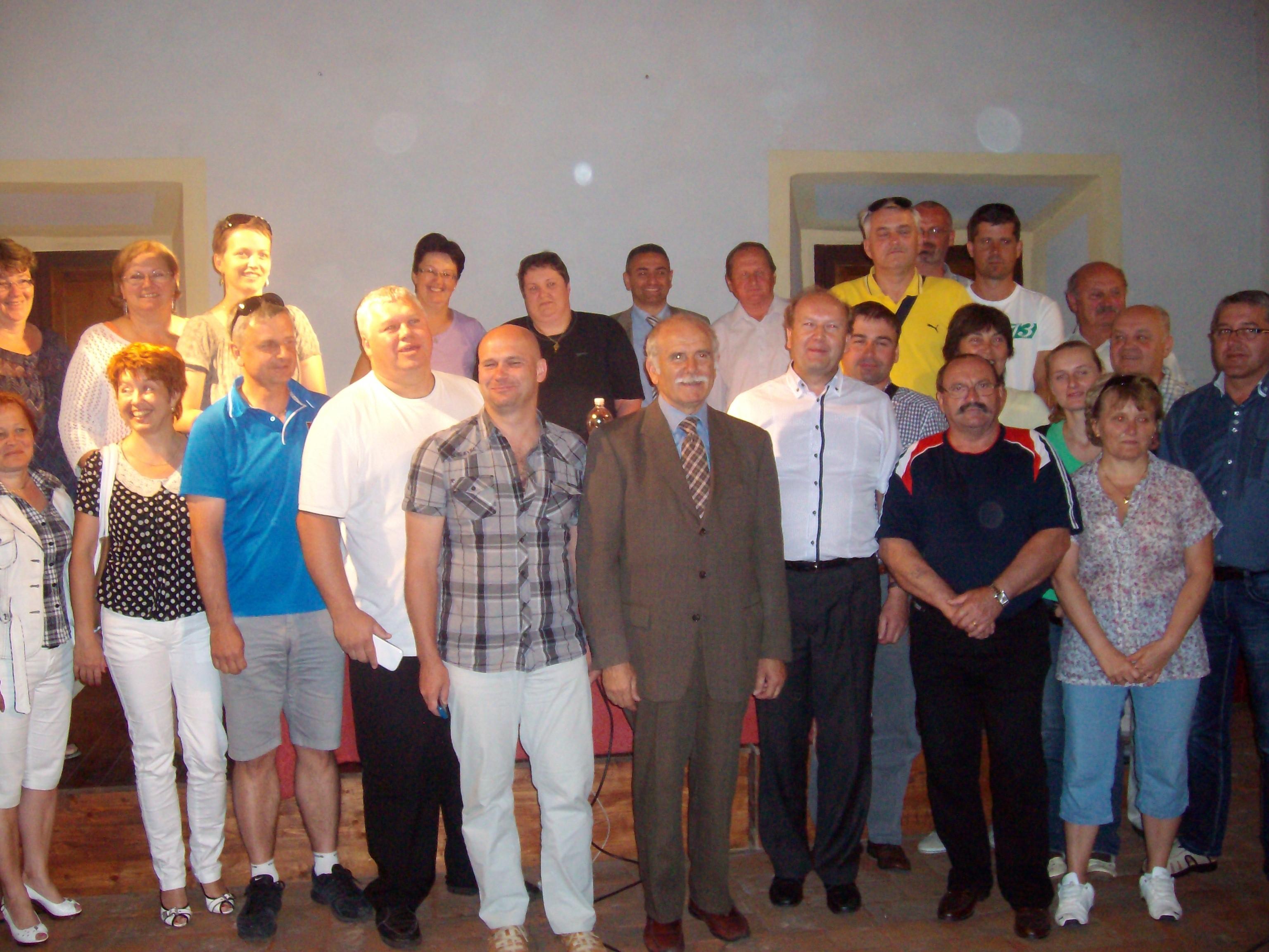 Cianfanelli incontra sindaci slovacchi
