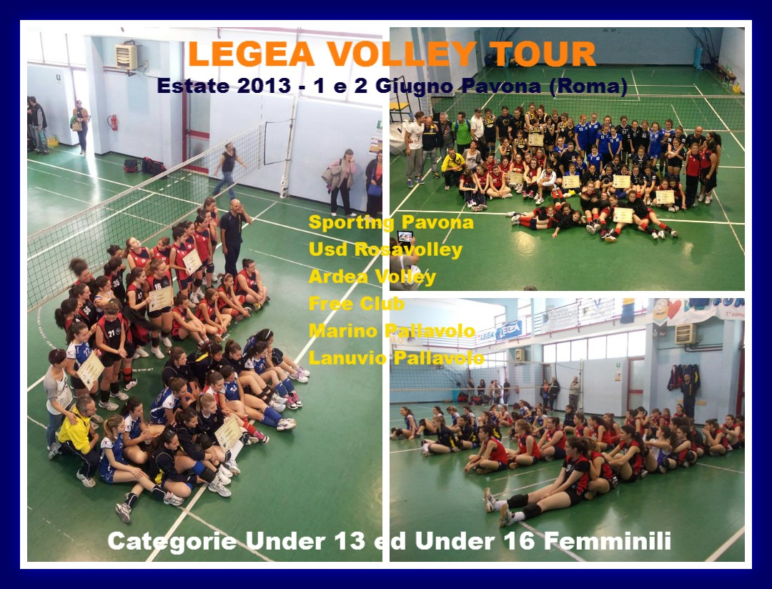 Legea Volley Tour 2013