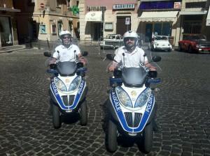 Moto ibride polizia locale