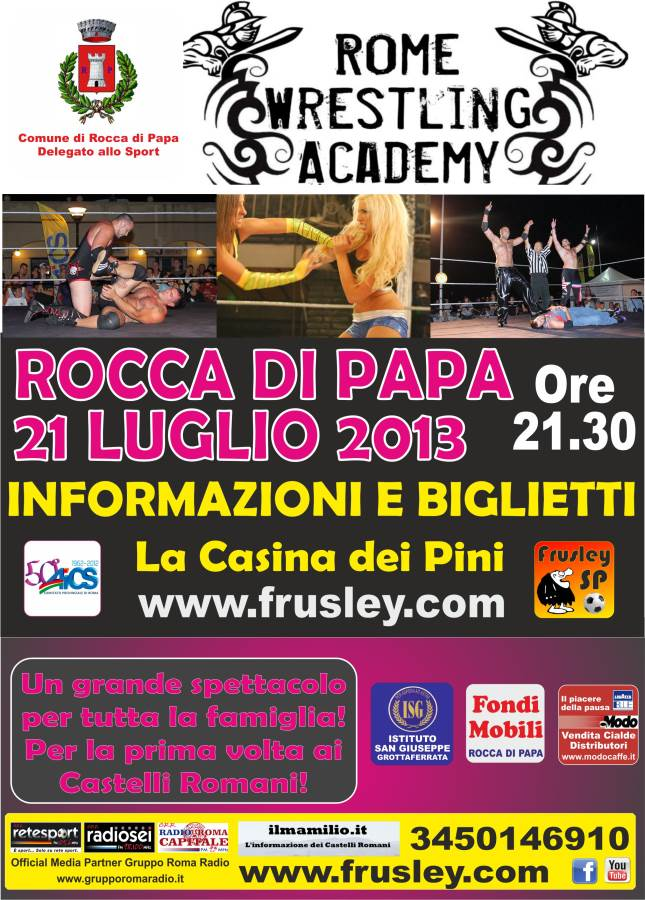 Wrestilng a Rocca di Papa