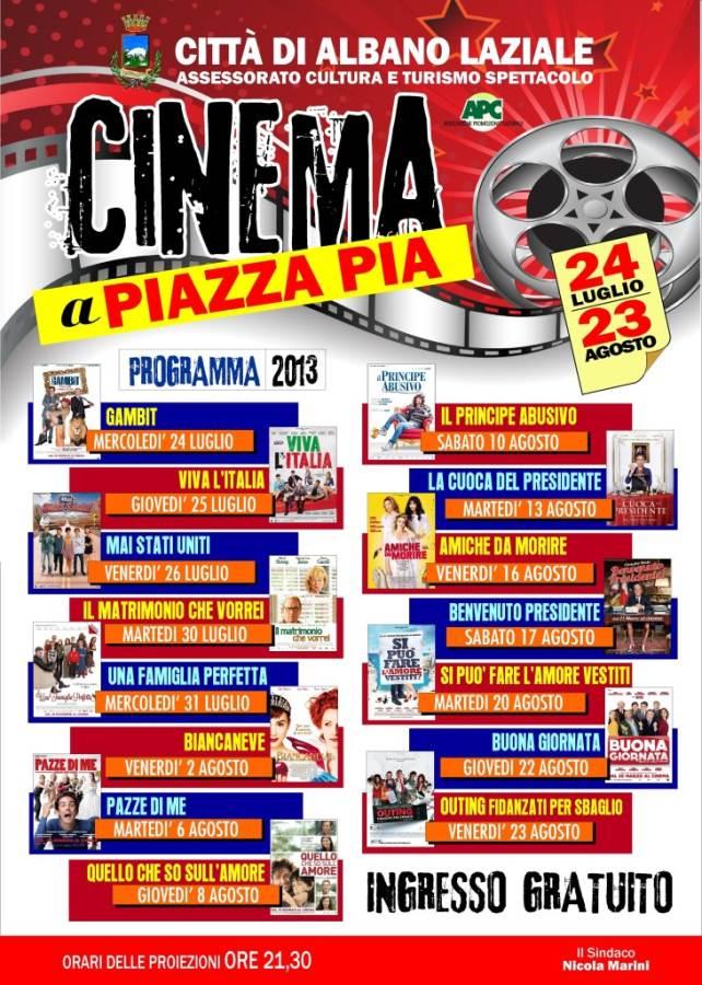 Cinema piazza pia