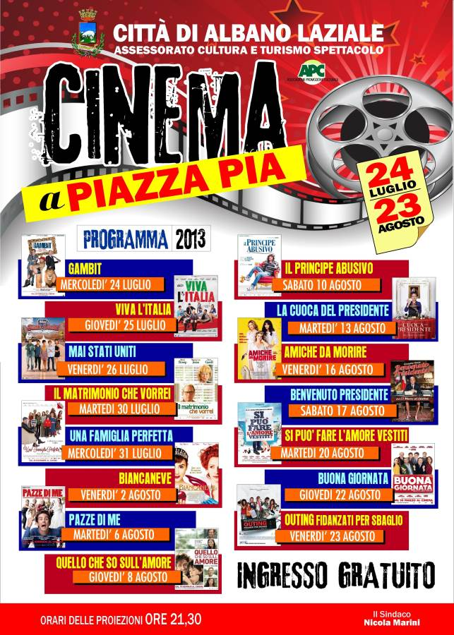 Cinema piazza pia