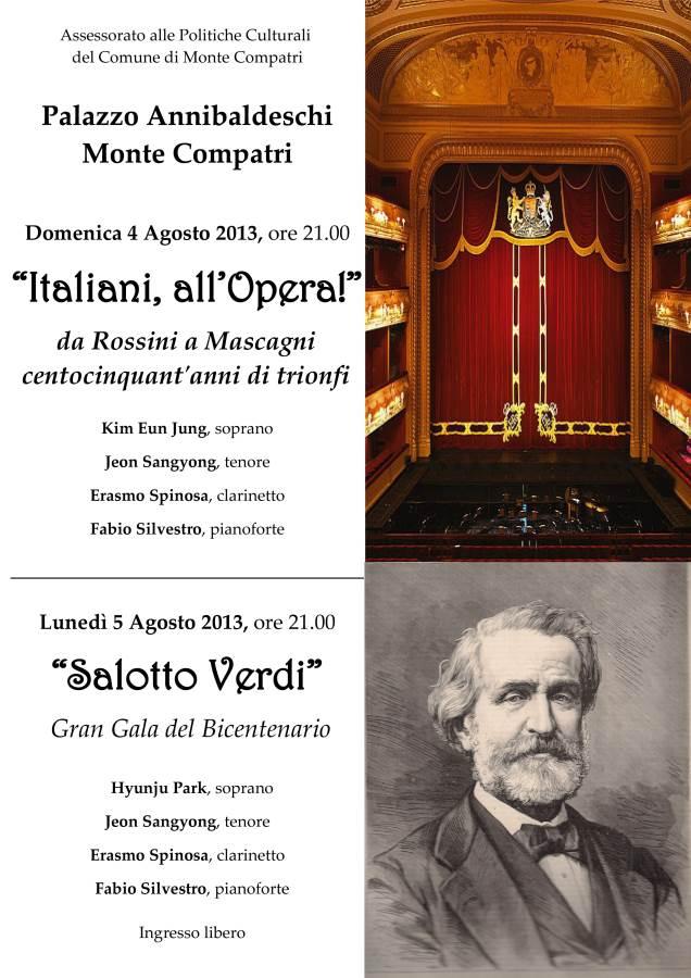 Festival lirica Monte Compatri