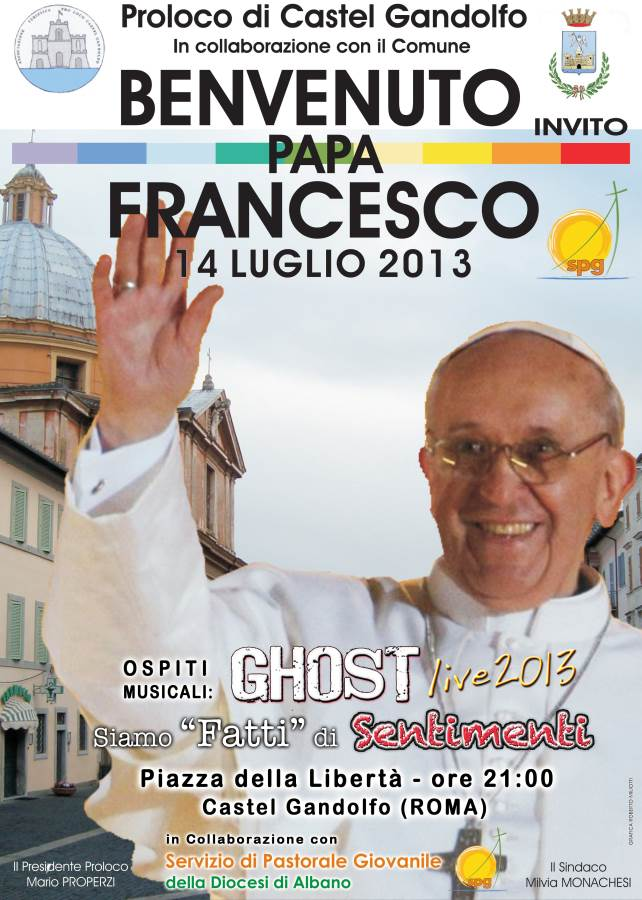 Papa Francesco Castel Gandolfo