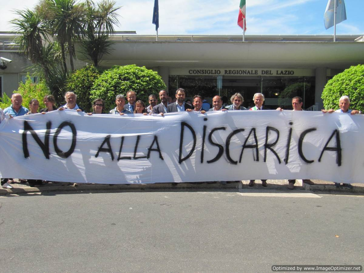 No discarica Falcognana