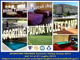 Sporting Pavona camp