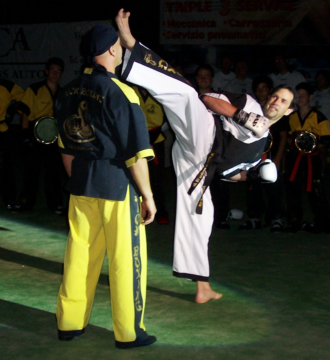 il maestro D'Adamo in azione