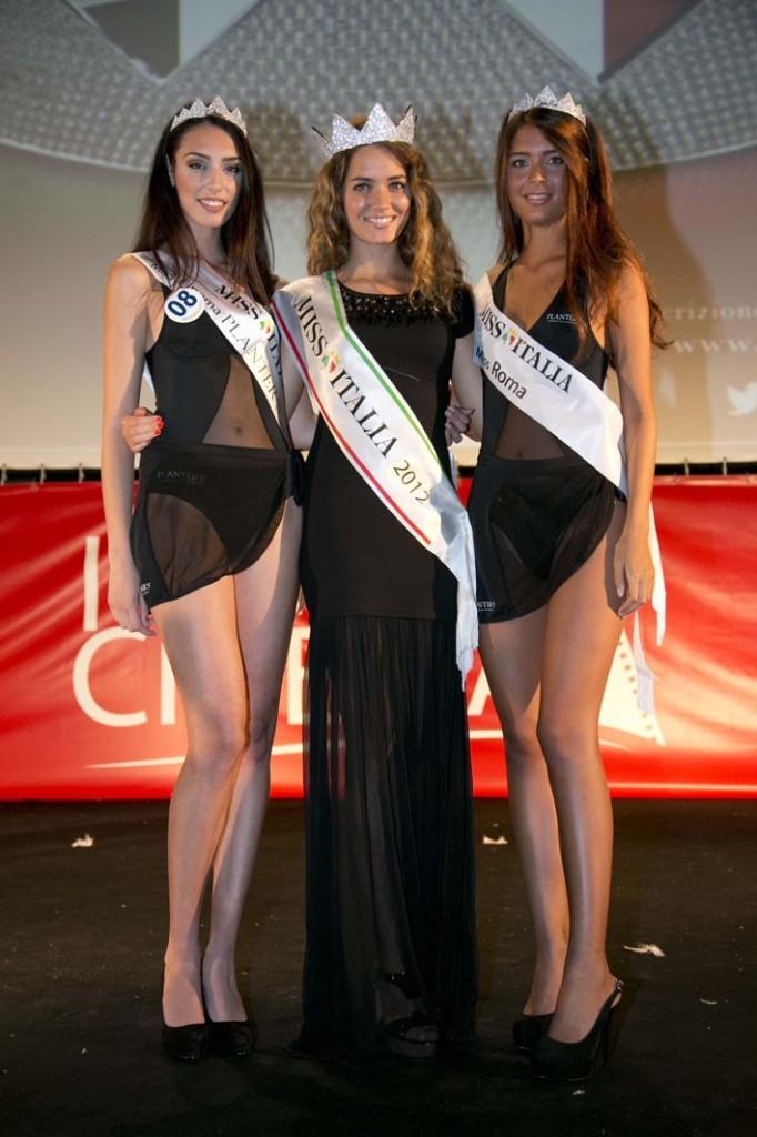 Miss Italia 2012 con Costanza Nisi e Giorgia Formisano