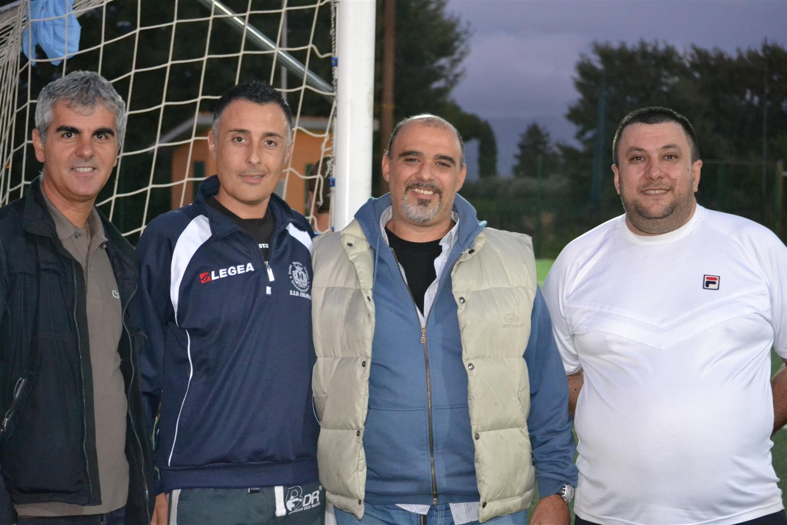 Staff tecnico Colonna calcio