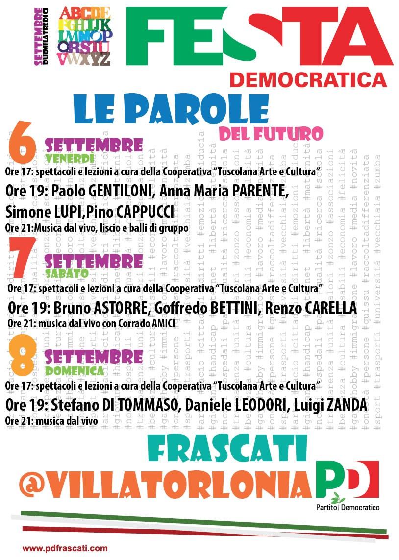 Festa Democratica Frascati