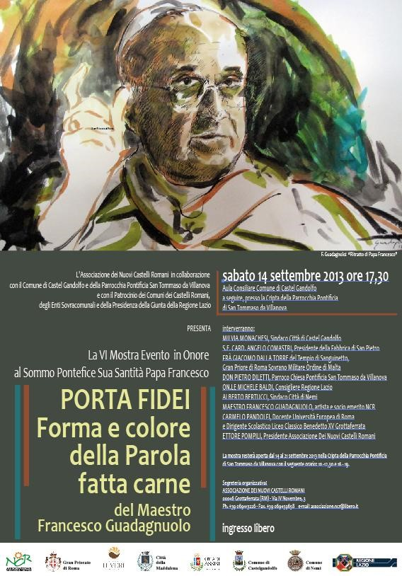 mostra in onore di Papa Francesco