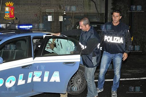 rumeno arrestato ad Albano