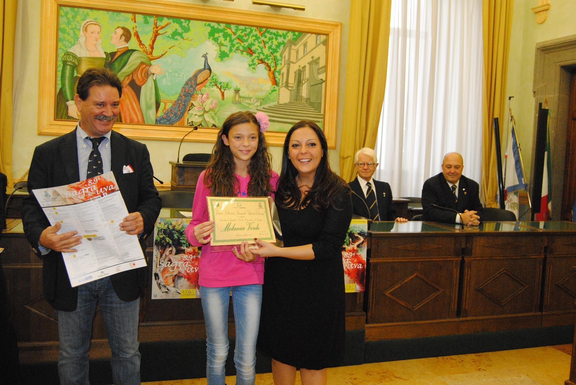 Melania Verde Premio Vittoria Colonna