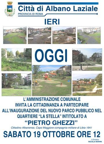 Parco Ghezzi Albano Laziale