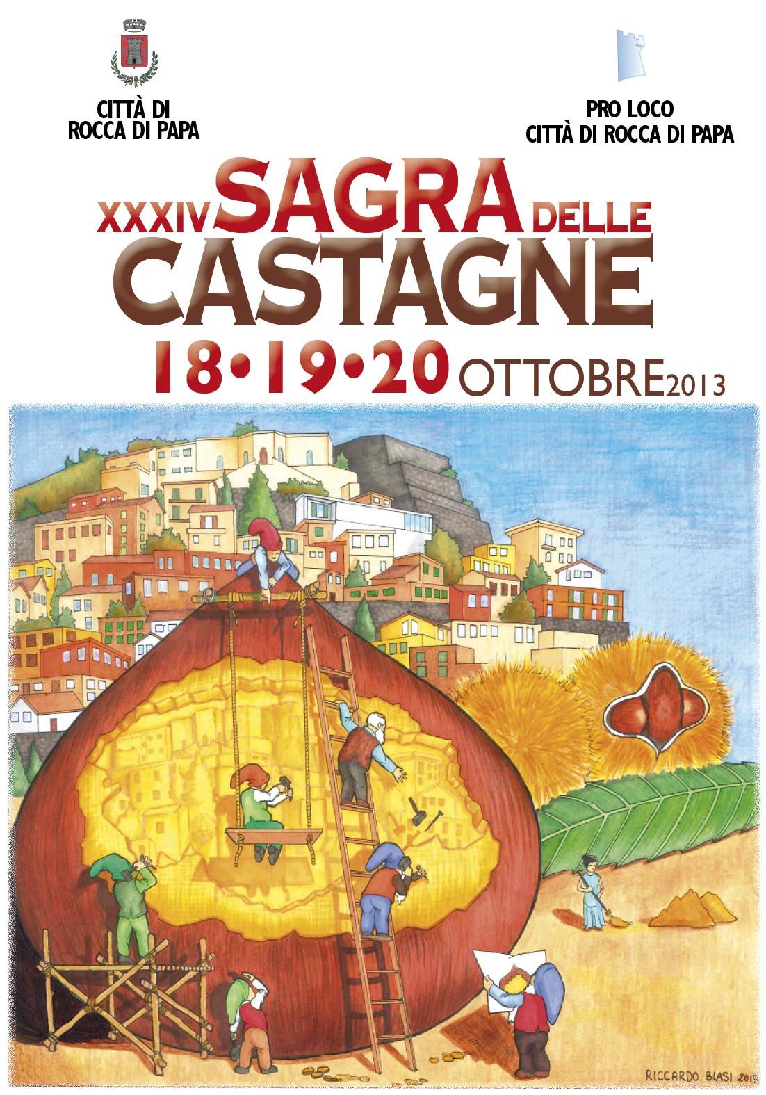 Sagra Castagna Rocca di Papa
