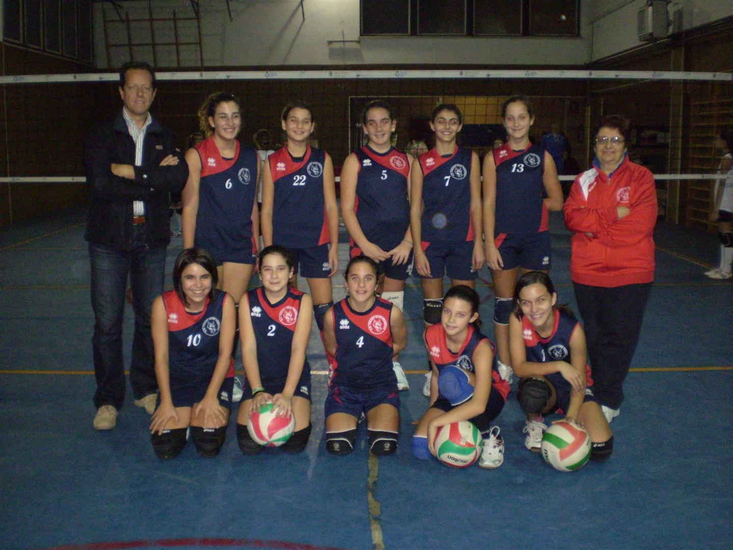 Volley Club Frascati unde 13 2012