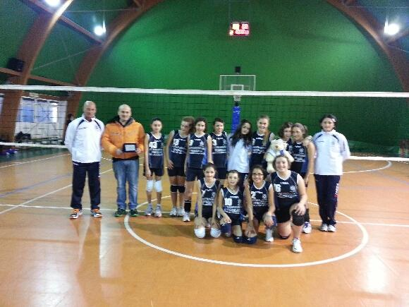 volley under 13 e 14 ssd colonna