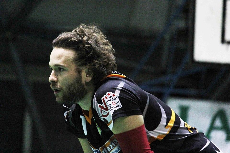 il libero della pallavolo velletri Alessandro Barbiero