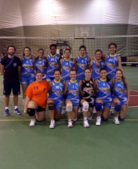 la prima divisione femminile della pallavolo velletri