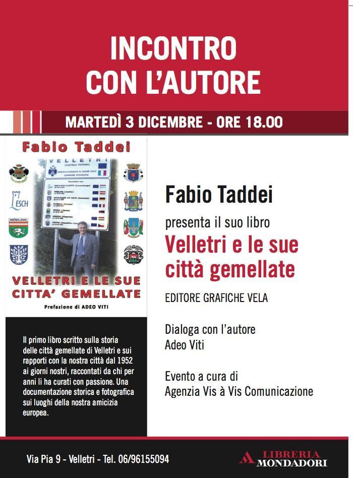 Libro Fabio Taddei