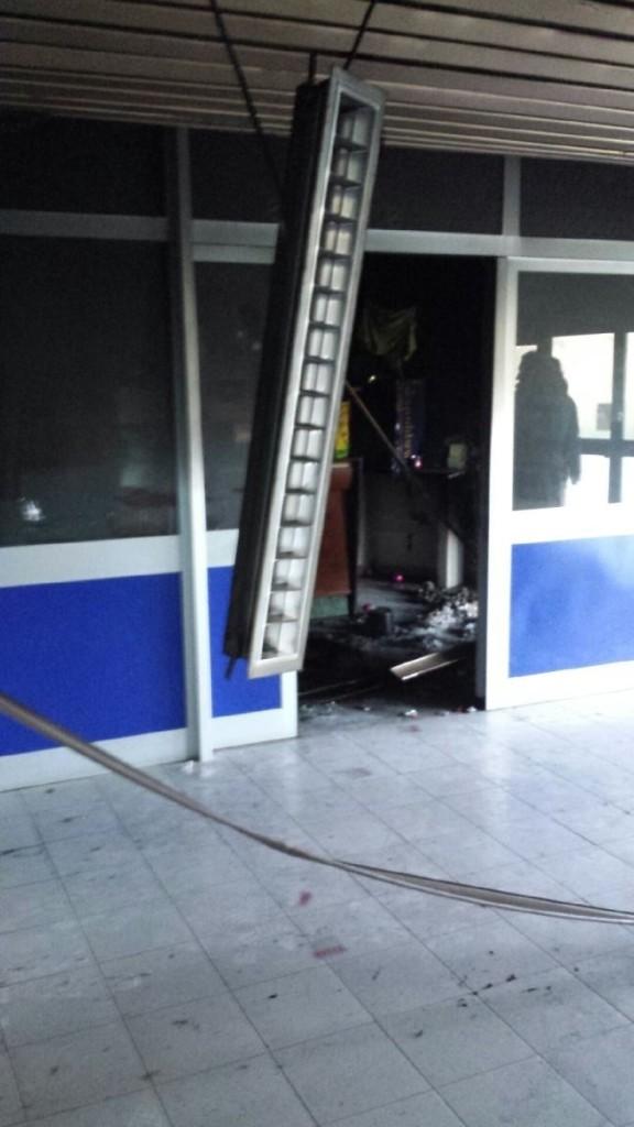 Stadio Fiore di Marino danneggiato