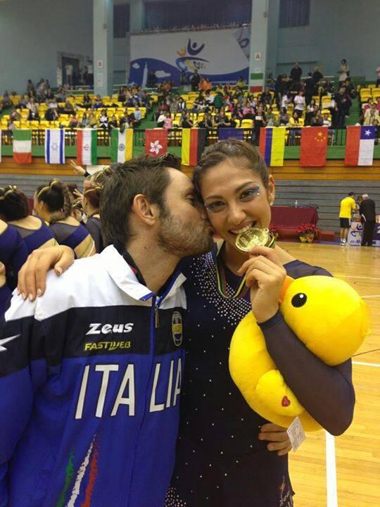 Cristina Trani e Gabriele Quirini