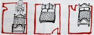 Camera da letto Meta Casa
