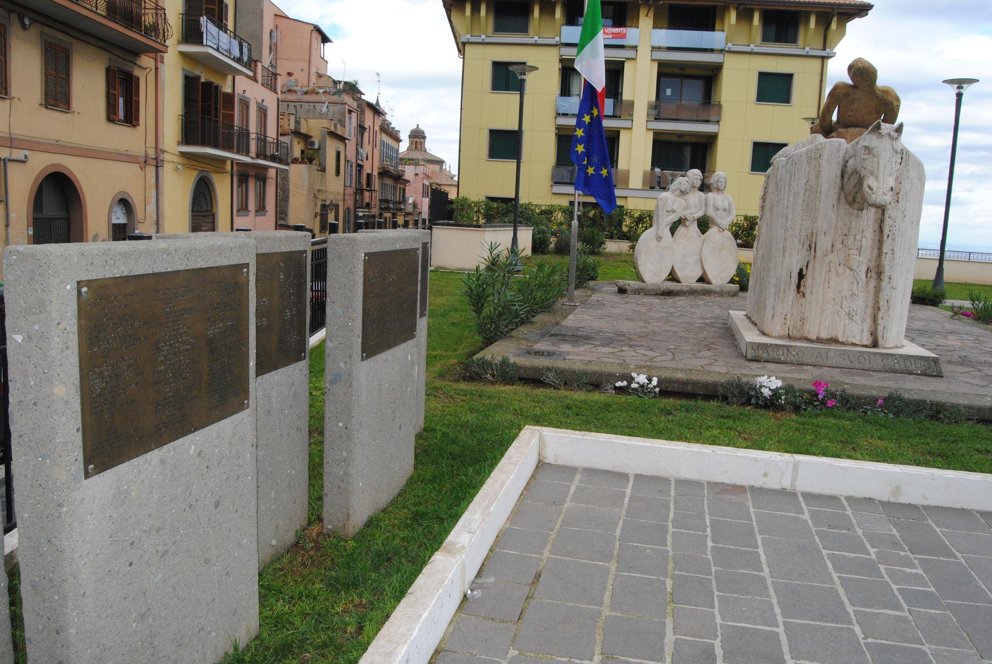 monumento ai caduti ciampino