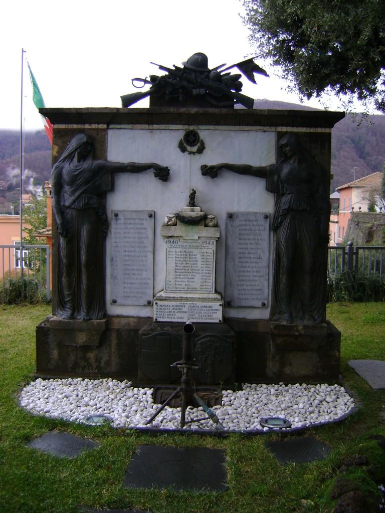 Monumento caduti a Monte Porzio Catone