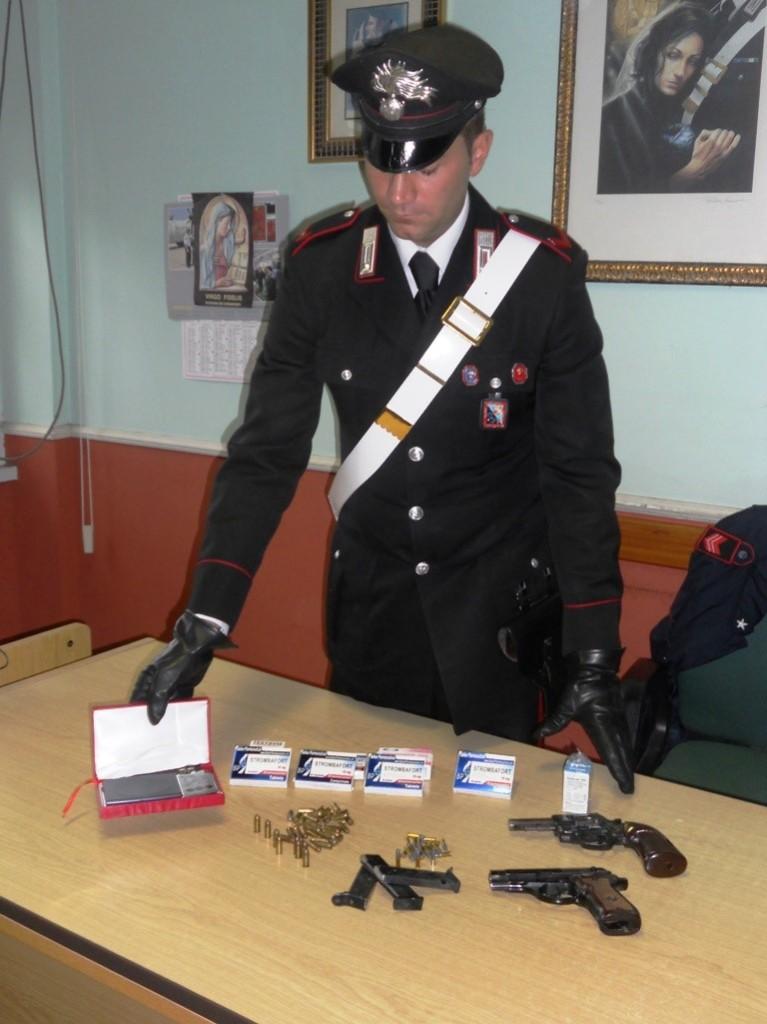 armi e anabolizzanti sequestrati