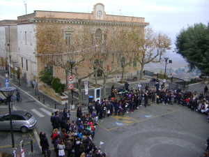 festeggiamenti 100 anni scuola piazza borghese