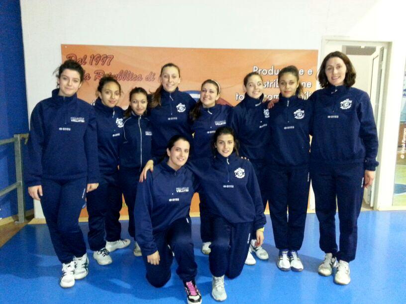 under 16 provinciale femmiile della pallavolo velletri