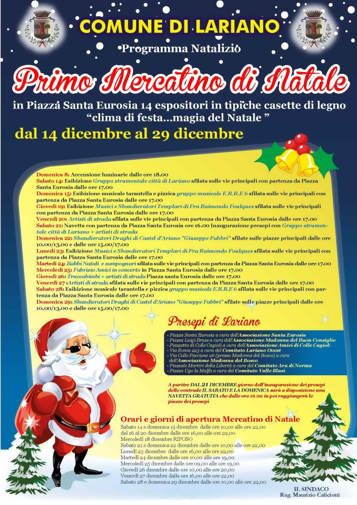 Natale a Lariano