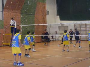 under 14 di eccellenza maschile pallavolo velletri contro sempione roma nord volley