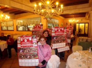 il calendario della rosavolley velletri 2014 presentato dalle ragazze del settore giovanile