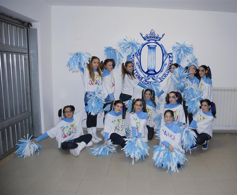 memorial tozzi organizzato da ssd colonna calcio festa inaugurazione le cheerleaders