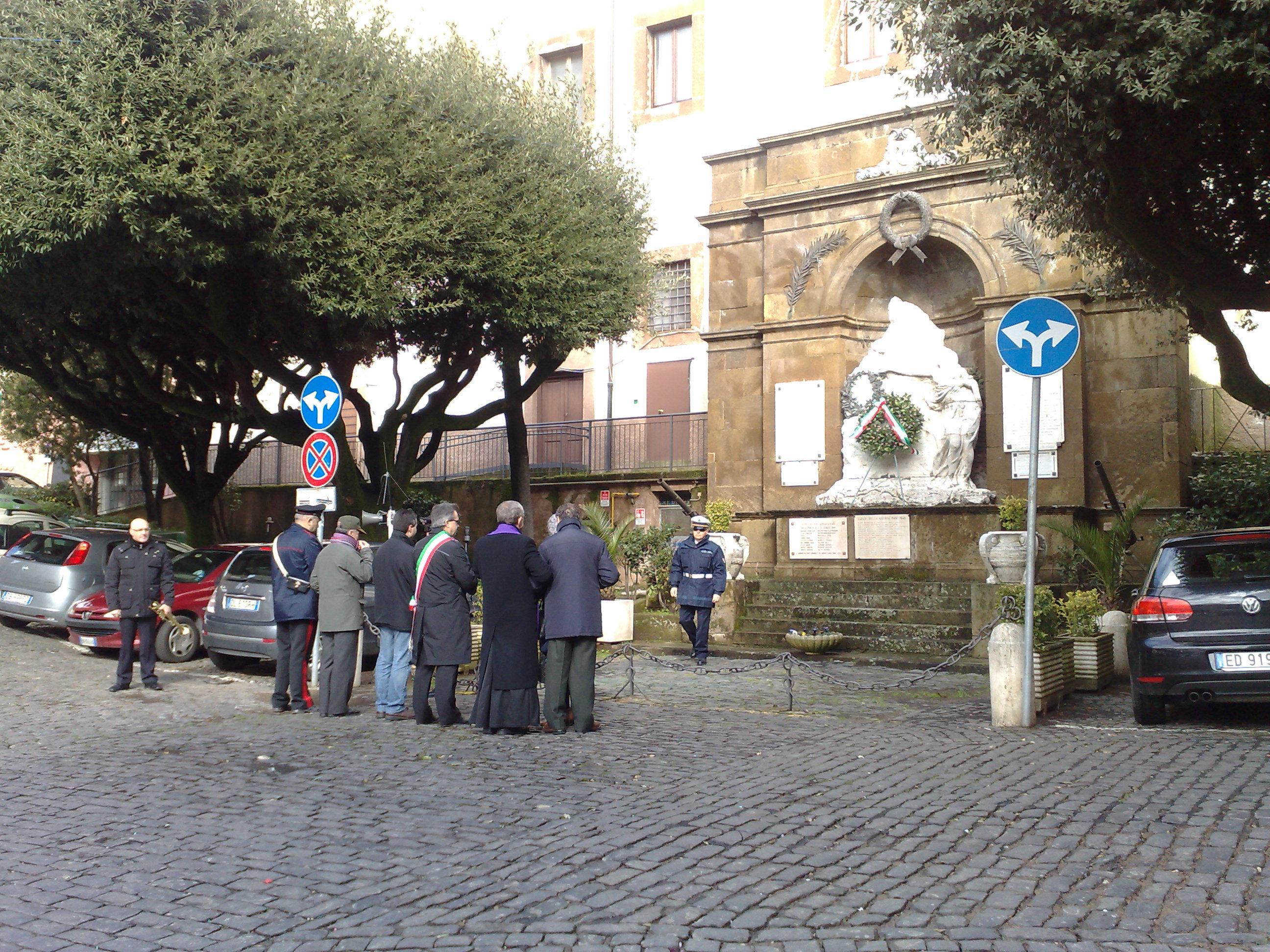bombardamento Monte Compatri 30 gennaio 2014