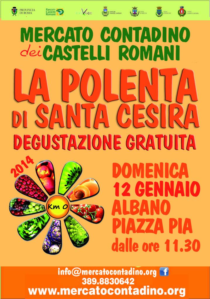 polenta di santa cesira 12 gennaio 2014