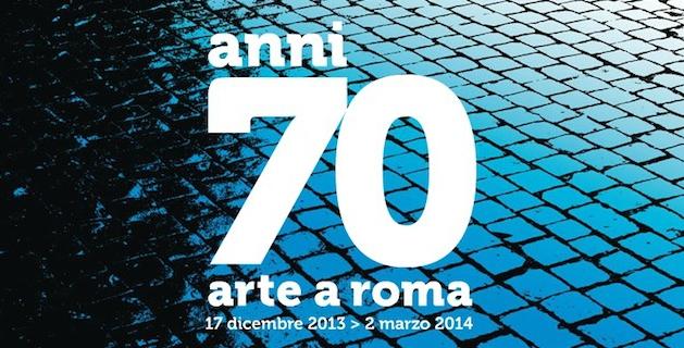 anni 70 arte a roma