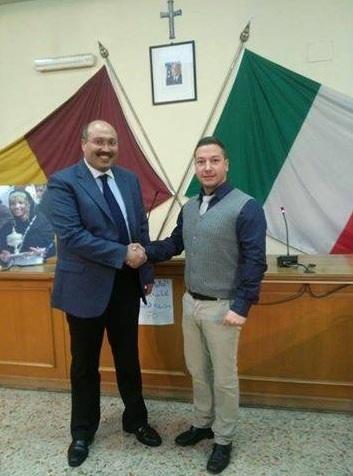 Luca Arioli con Mohamed Basri