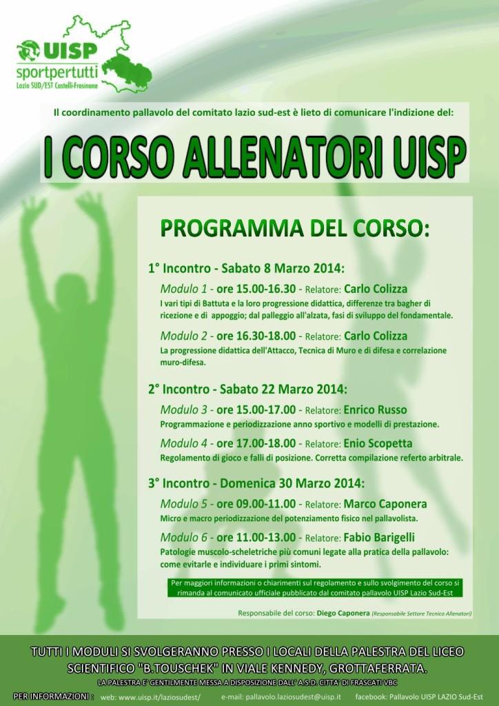 i_corso_allenatori_di_pallavolo_uisp_grottaferrata