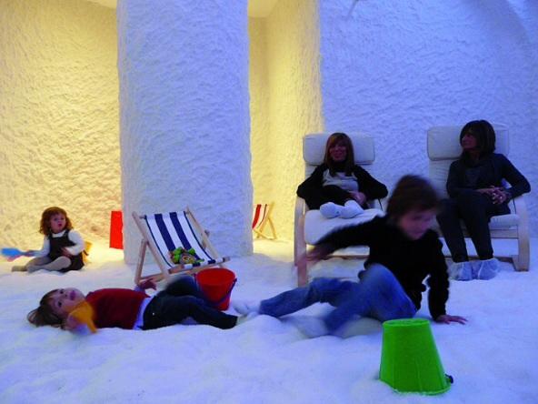 Cabina di sale per i bambini